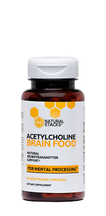 Natural Stacks Acetylcholine Brain Food