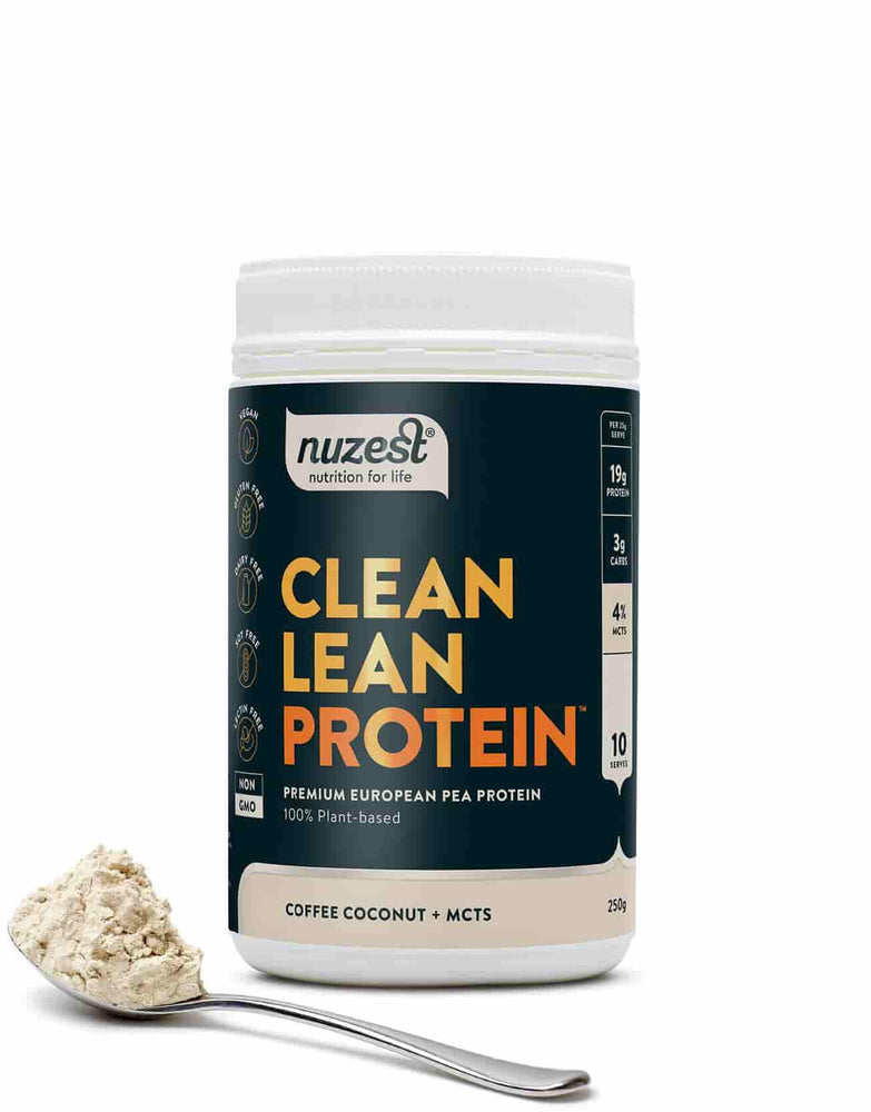 NuZest Clean Lean Protein Coffee Coconut + MCTs 250 g