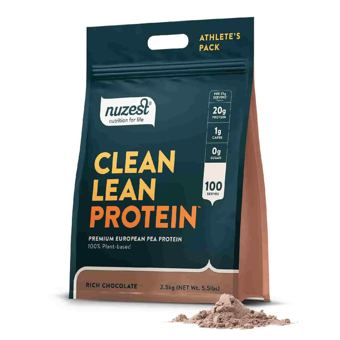 NuZest Clean Lean Protein Rich Chocolate 2.5 kg