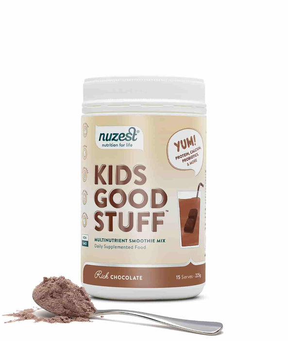 NuZest Kids Good Stuff Rich Chocolate 225 g