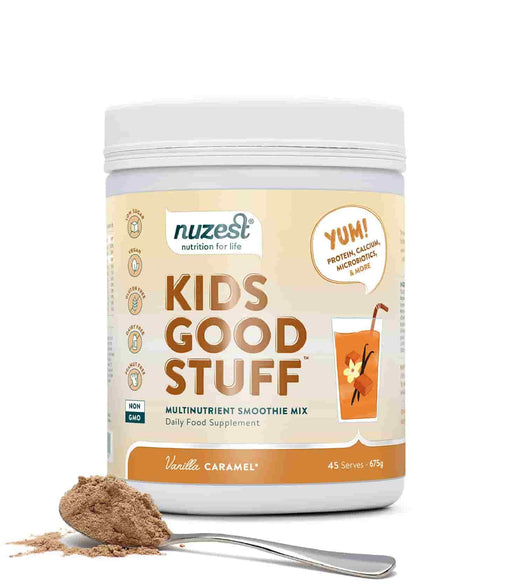 NuZest Kids Good Stuff Vanilla Caramel 675 g