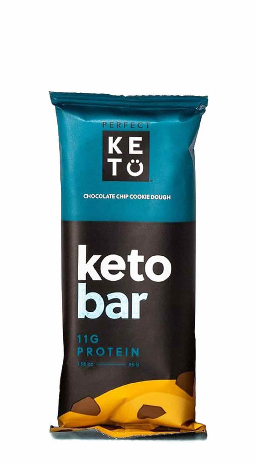 Perfect Keto Bars Chocolate Chip Cookie Dough