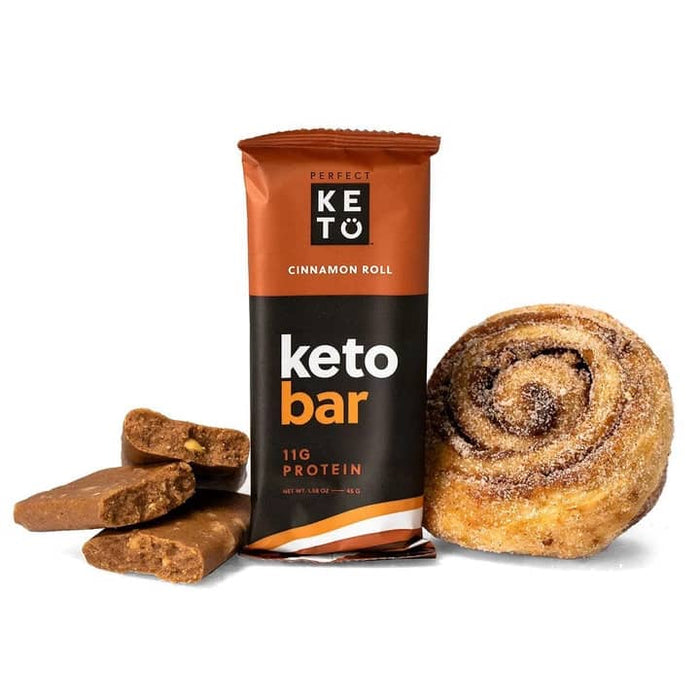 Perfect Keto Bars Cinnamon Roll 3