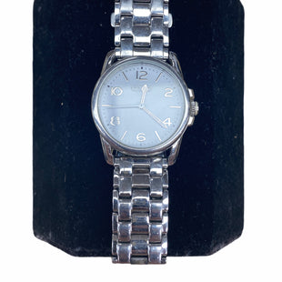 Primary Photo - BRAND: COACH STYLE: WATCH COLOR: SILVER SKU: 206-20689-6686