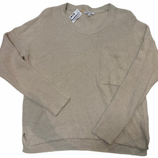 Primary Photo - BRAND: MADEWELL STYLE: SWEATER HEAVYWEIGHT COLOR: TAUPE SIZE: L SKU: 206-20693-4615