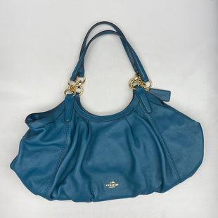 Primary Photo - BRAND: COACH STYLE: HANDBAG DESIGNER COLOR: TEAL SIZE: MEDIUM OTHER INFO: LILY SHOULDER BAG SKU: 206-20689-10820