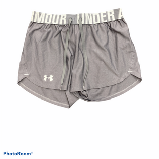 Primary Photo - BRAND: UNDER ARMOUR STYLE: ATHLETIC SHORTS COLOR: GREY SIZE: XS SKU: 206-20684-3000