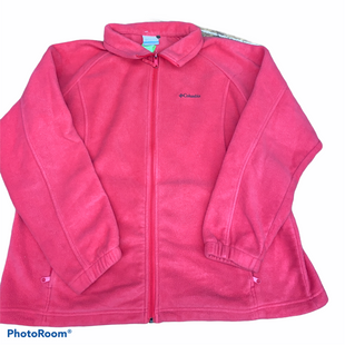 Primary Photo - BRAND: COLUMBIA STYLE: JACKET OUTDOOR COLOR: PINK SIZE: 2X SKU: 206-20664-10210
