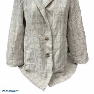 Primary Photo - BRAND: MADEWELL STYLE: BLAZER JACKET COLOR: TAN SIZE: L SKU: 206-20664-12585