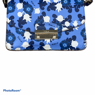 Primary Photo - BRAND: FURLA STYLE: HANDBAG DESIGNER COLOR: BLUE SIZE: MEDIUM SKU: 206-20693-7734
