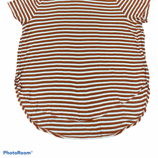 Primary Photo - BRAND: MADISON STYLE: TOP SHORT SLEEVE COLOR: STRIPED SIZE: 2X SKU: 206-20618-88914