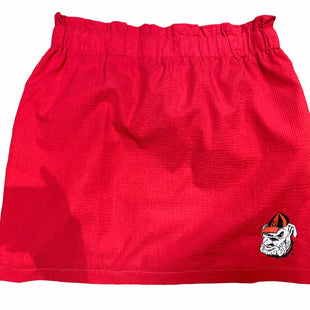 Primary Photo - BRAND: LAUREN JAMES STYLE: SKIRT COLOR: RED SIZE: XL OTHER INFO: GA BULLDOGS SKU: 206-20618-87250