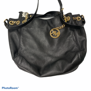 Primary Photo - BRAND: MICHAEL KORS STYLE: HANDBAG DESIGNER COLOR: BLACK SIZE: MEDIUM SKU: 206-20689-9139