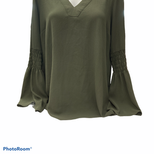 Primary Photo - BRAND: MICHAEL BY MICHAEL KORS STYLE: TOP LONG SLEEVE COLOR: GREEN SIZE: L SKU: 206-20618-95599