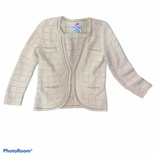 Primary Photo - BRAND: LILLY PULITZER STYLE: SWEATER CARDIGAN HEAVYWEIGHT COLOR: WHEAT SIZE: M SKU: 206-20664-10121