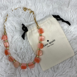 Primary Photo - BRAND: KATE SPADE STYLE: NECKLACE COLOR: ORANGE SKU: 206-20693-3982