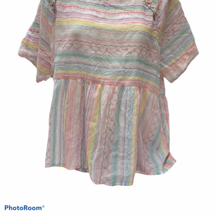 Primary Photo - BRAND: ANTHROPOLOGIE STYLE: TOP SHORT SLEEVE COLOR: PINK SIZE: XL SKU: 206-20664-12907