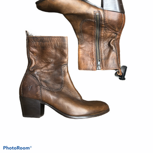 Primary Photo - BRAND: FRYE STYLE: BOOTS DESIGNER COLOR: BROWN SIZE: 8 SKU: 206-20693-4514
