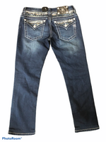 Photo #1 - BRAND: MISS ME <BR>STYLE: JEANS DESIGNER <BR>COLOR: DENIM <BR>SIZE: 6 <BR>SKU: 206-20693-4529