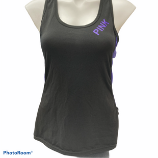 Primary Photo - BRAND: PINK STYLE: ATHLETIC TANK TOP COLOR: BLACK SIZE: XS SKU: 206-20684-3003