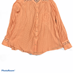 Primary Photo - BRAND: FREE PEOPLE STYLE: TOP LONG SLEEVE COLOR: ORANGE SIZE: S SKU: 206-20664-9771