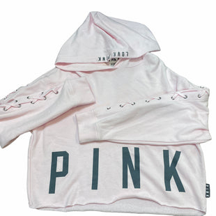 Primary Photo - BRAND: PINK STYLE: SWEATSHIRT HOODIE COLOR: PINK SIZE: M SKU: 206-20693-4641