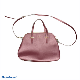 Primary Photo - BRAND: KATE SPADE STYLE: HANDBAG DESIGNER COLOR: BURGUNDY SIZE: MEDIUM SKU: 206-20693-6631