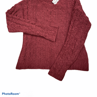 Primary Photo - BRAND: LOVE TREE STYLE: SWEATER LIGHTWEIGHT COLOR: MAROON SIZE: M SKU: 206-20618-87187