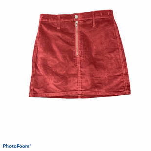 Primary Photo - BRAND: MADEWELL STYLE: SKIRT COLOR: RUST SIZE: 0 SKU: 206-20664-13368