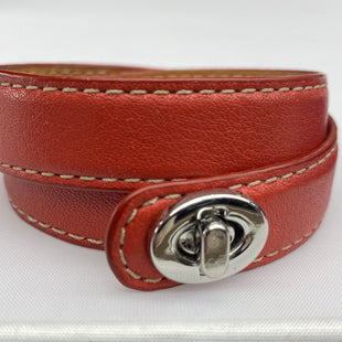 Primary Photo - BRAND: COACH STYLE: BRACELET COLOR: RED SKU: 206-20618-88689