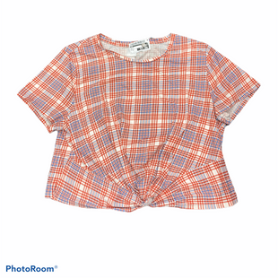 Primary Photo - BRAND: H&M STYLE: TOP SHORT SLEEVE COLOR: ORANGE SIZE: XL SKU: 206-20684-2756