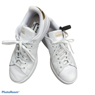 Primary Photo - BRAND: ADIDAS STYLE: SHOES FLATS COLOR: WHITE SIZE: 8.5 SKU: 206-20618-87242