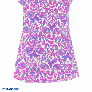 Primary Photo - BRAND: LILLY PULITZER STYLE: DRESS SHORT SHORT SLEEVE COLOR: WHITE PURPLE SIZE: S SKU: 206-20618-94599