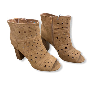Primary Photo - BRAND: TORRID STYLE: BOOTS ANKLE COLOR: TAN SIZE: 12 SKU: 206-20689-6716