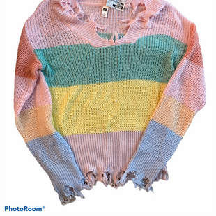 Primary Photo - BRAND:    CLOTHES MENTOR STYLE: SWEATER LIGHTWEIGHT COLOR: PASTEL SIZE: S SKU: 206-20694-230