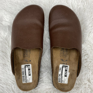 Primary Photo - BRAND: BIRKENSTOCK STYLE: SHOES FLATS COLOR: BROWN SIZE: 8.5 SKU: 206-20693-4075