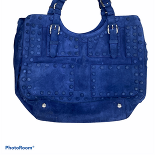Primary Photo - BRAND: ROBERTO CAVALLI STYLE: HANDBAG DESIGNER COLOR: BLUE SIZE: LARGE SKU: 206-20664-12619