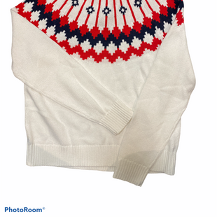 Primary Photo - BRAND: J CREW O STYLE: SWEATER LIGHTWEIGHT COLOR: RED WHITE BLUE SIZE: M SKU: 206-20618-87015
