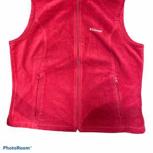 Primary Photo - BRAND: COLUMBIA STYLE: VEST COLOR: RED SIZE: PETITE   XL SKU: 206-20689-9544