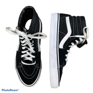 Primary Photo - BRAND: VANS STYLE: SHOES FLATS COLOR: BLACK WHITE SIZE: 8.5 SKU: 206-20689-9753