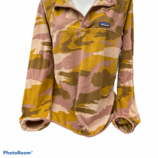 Primary Photo - BRAND: PATAGONIA STYLE: FLEECE COLOR: CAMOFLAUGE SIZE: XL SKU: 206-20664-12924