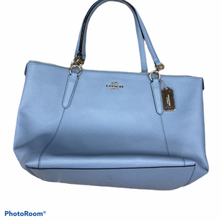 Primary Photo - BRAND: COACH STYLE: HANDBAG DESIGNER COLOR: BABY BLUE SIZE: LARGE SKU: 206-20693-6691