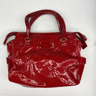 Primary Photo - BRAND: KATE SPADE STYLE: HANDBAG DESIGNER COLOR: RED SIZE: LARGE OTHER INFO: AS IS SKU: 206-20618-89897