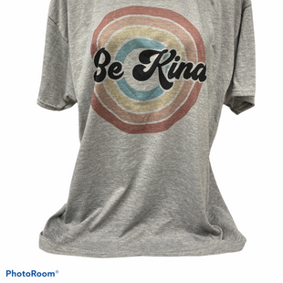 Primary Photo - BRAND: JERZEES STYLE: TOP SHORT SLEEVE COLOR: GREY SIZE: XL OTHER INFO: BE KIND SKU: 206-20618-93305
