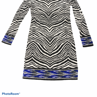 Primary Photo - BRAND: MICHAEL BY MICHAEL KORS STYLE: DRESS SHORT LONG SLEEVE COLOR: ZEBRA PRINT SIZE: S SKU: 206-20689-9708