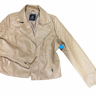 Primary Photo - BRAND: NEW YORK AND CO STYLE: JACKET OUTDOOR COLOR: NUDE SIZE: L SKU: 206-20689-9759