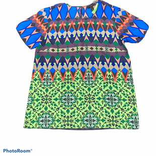Primary Photo - BRAND: J CREW STYLE: TOP SHORT SLEEVE COLOR: BLUE GREEN SIZE: 2 SKU: 206-20618-91782