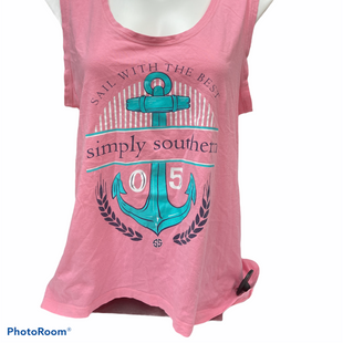 Primary Photo - BRAND: SIMPLY SOUTHERN STYLE: TOP SLEEVELESS BASIC COLOR: PINK SIZE: M SKU: 206-20684-2998