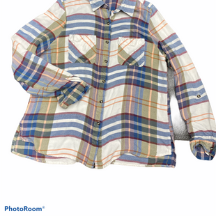 Primary Photo - BRAND: ZAC AND RACHEL STYLE: TOP LONG SLEEVE COLOR: PLAID SIZE: L SKU: 206-20618-87202