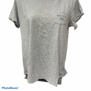 Primary Photo - BRAND: VINEYARD VINES STYLE: TOP SHORT SLEEVE BASIC COLOR: GREY SIZE: L SKU: 206-20618-93206